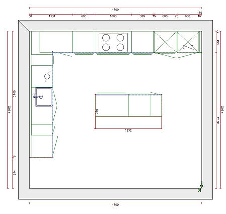Raffle . floor plan of kitchen units.JPG