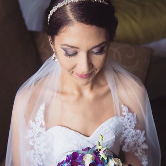 Beautiful bride👰🏼 Hair and Makeup _mod