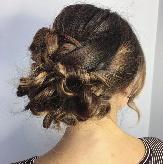 Beautiful loose Updo for her event.jpg