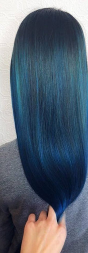 Blue Fashion colour