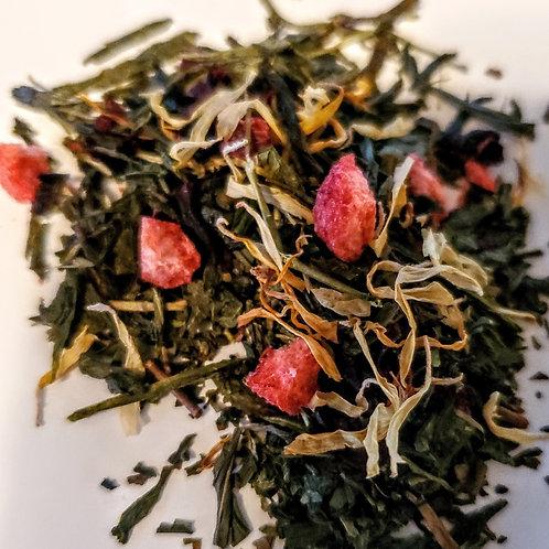Cherry Hibiscus green tea