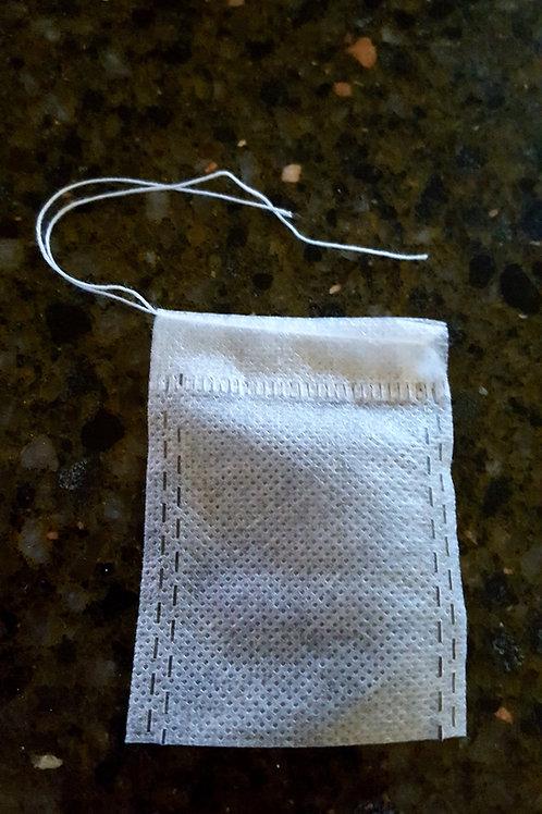 Woven Drawstring Empty Tea Bags