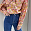 Thumbnail: חולצת פרחים צוורון