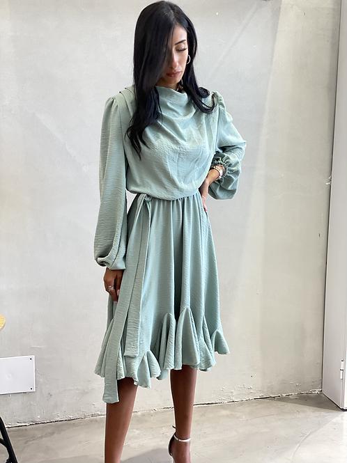 שמלת לונה (מנטה)