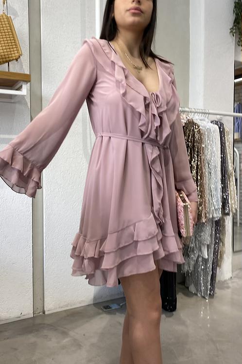 שמלת מוניקה (ורוד)
