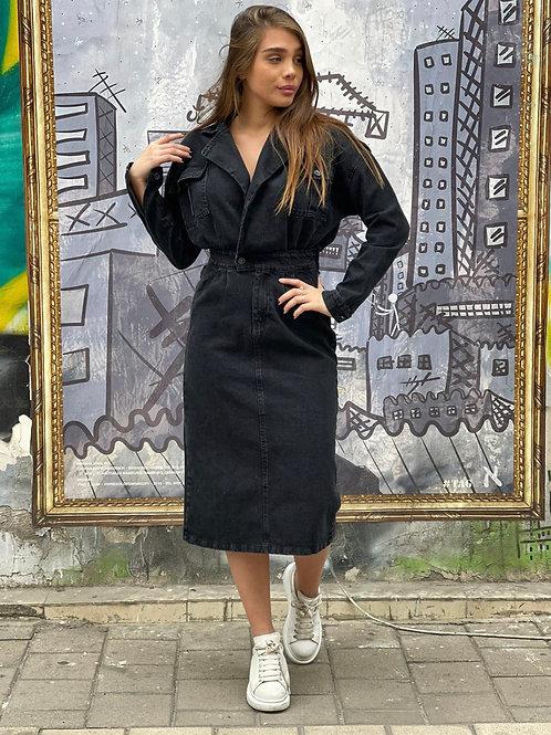 שמלת ג׳ינס מימי