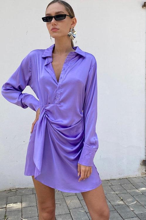 שמלת סאטן סאלי