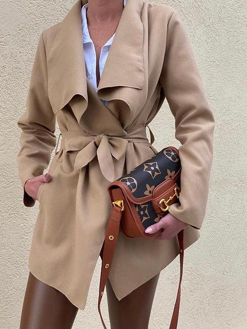 מעיל טראנץ קצר