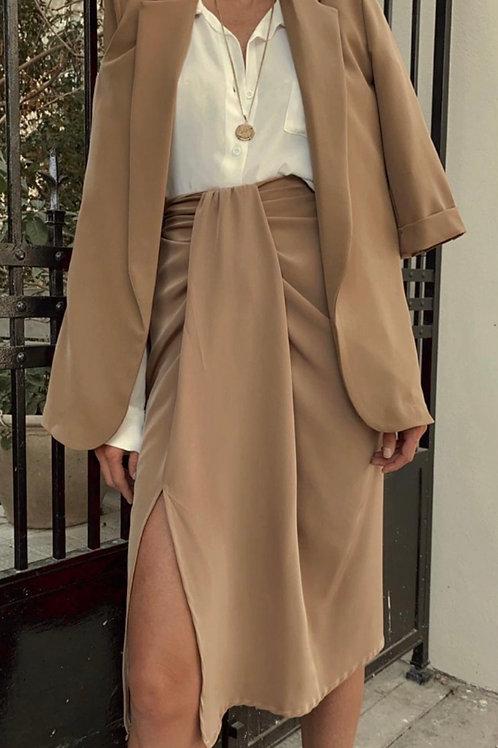 חצאית מיה (קאמל)