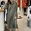 Thumbnail: מכופתרת שמלה (ירוק זית)
