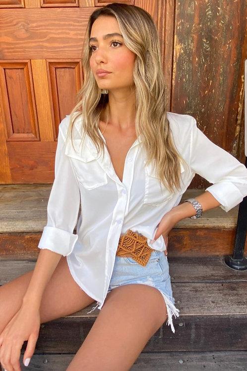 חולצת מייסי לבן