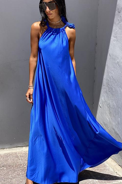 שמלת סאטן לולה