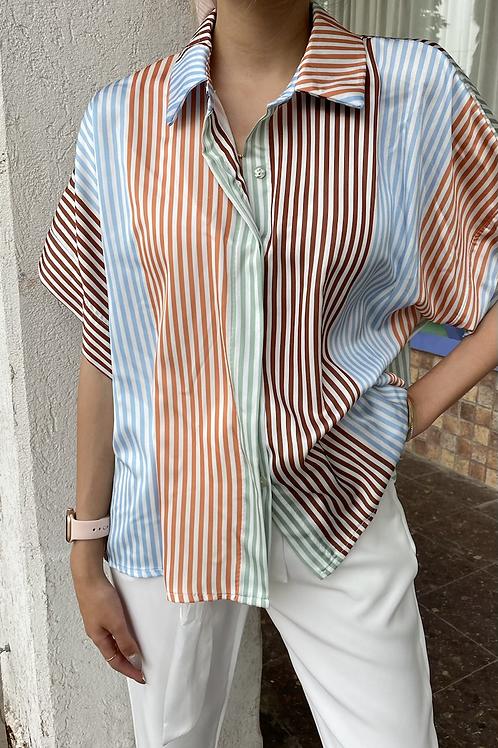 חולצת סאטן לילי