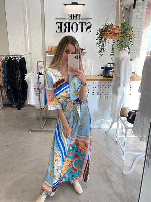 שמלת סאטן רוני