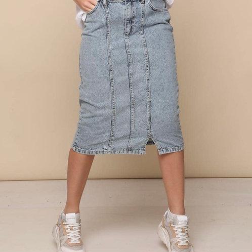חצאית ג׳ינס