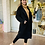 Thumbnail: מעיל טדי בר ארוך (שחור)