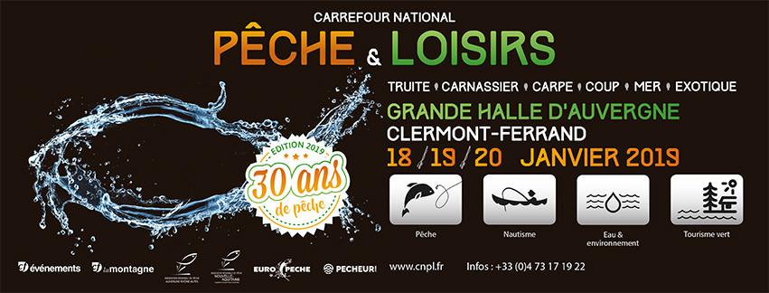 Salon de pêche de Clermont Ferrand