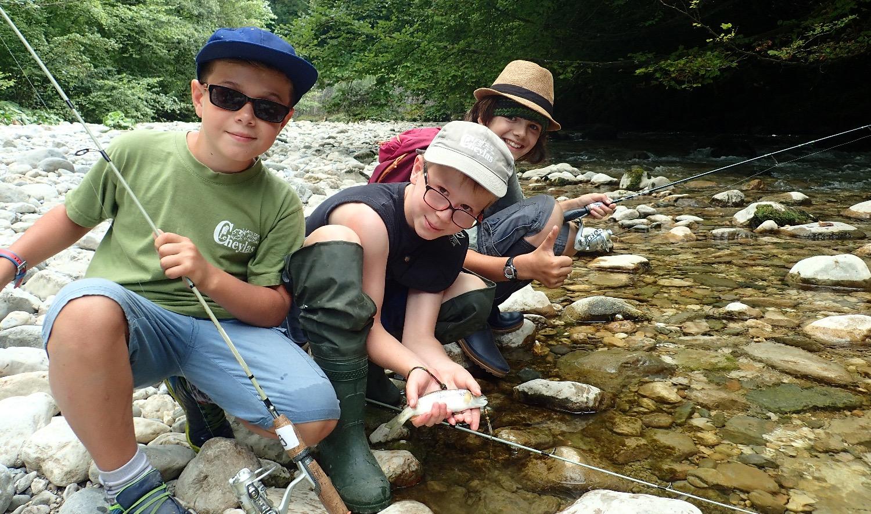 Camp pêche 2018