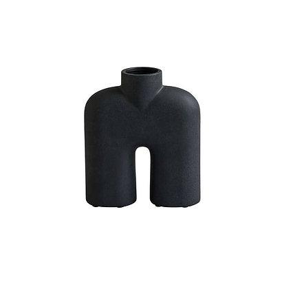 Vase céramique COBRA tall noir -L19XH23CM