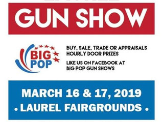 Largest Gun & Knife Show in Ms is scheduled for Laurel March 16th & 17th