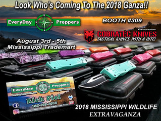 EveryDay Preppers will be at Ganza 2018