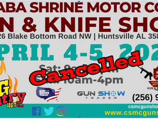 Cahaba Shrine Huntsville Next Show To Cancel It's March Show