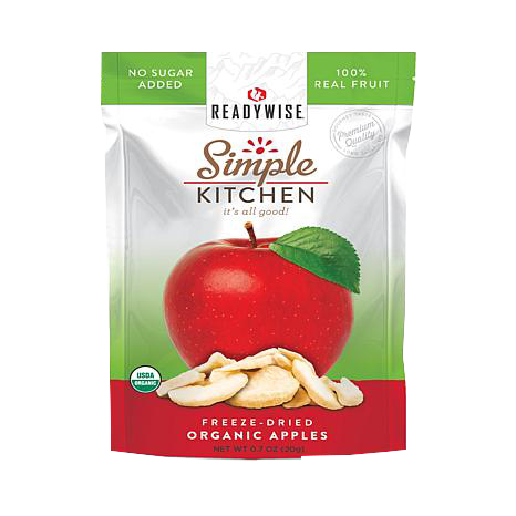 Simple Kitchen Organic Freeze Dried Apples (Single Pouch)