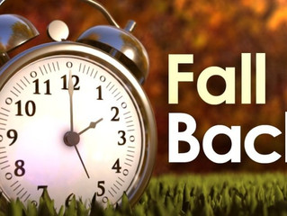 Don't Forget - Daylight Saving Changes This Weekend