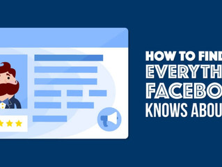 How To Find & Delete The Data Facebook Gathers On You