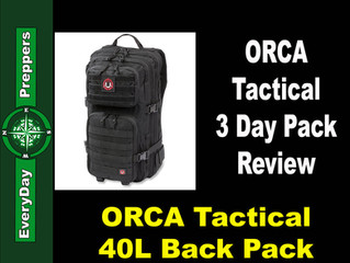 ORCA Tactical Talks With EveryDay Preppers