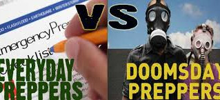 Everyday vs Doomsday Preppers: Defeating the misperception