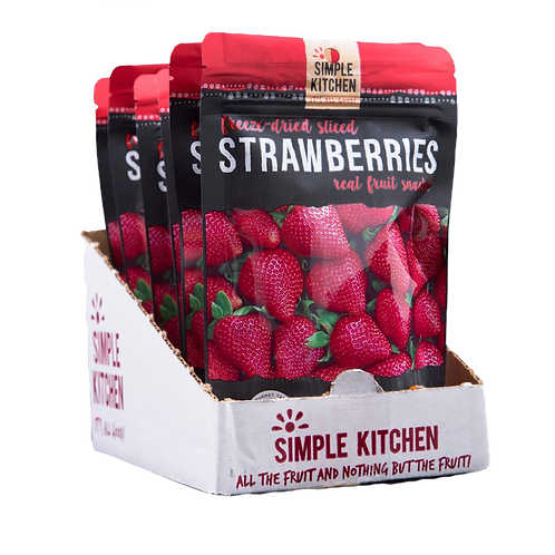 Freeze Dried Strawberries (CASE)
