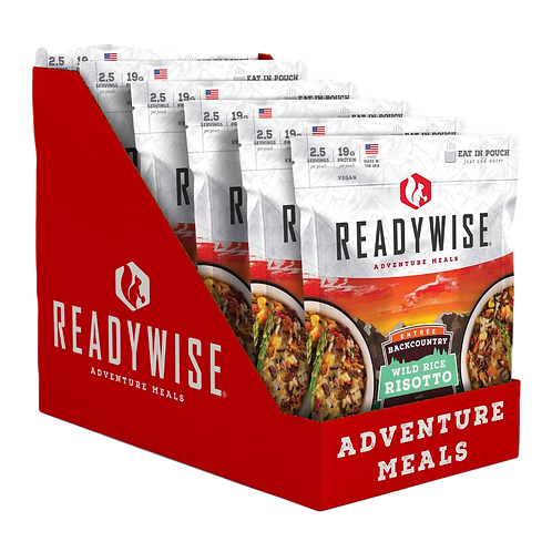 Backcountry Wild Rice Risotto (CASE)
