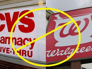 Drug Store Chains Walgreens / CVS Cave to Anti-Gun Lobby