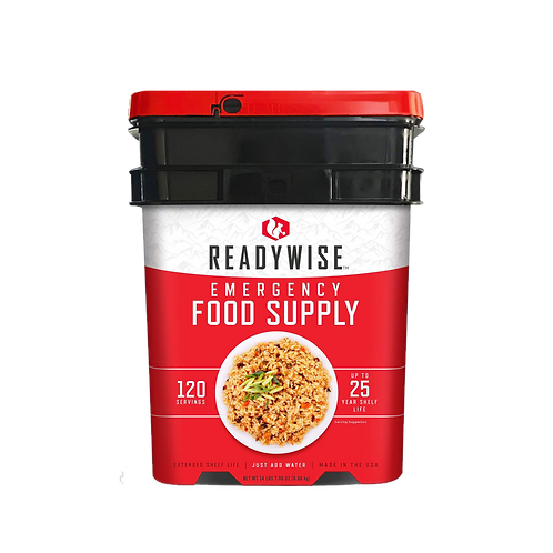 ReadyWise - 120 Serving Food Supply