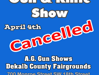 Fort Payne Now Cancelled Per VFW To A.G. Gun Shows