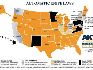 Automatic Knife Laws In USA (Update Part 1) 2021
