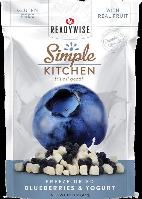 Freeze Dried Blueberries & Yogurt (SINGLE)