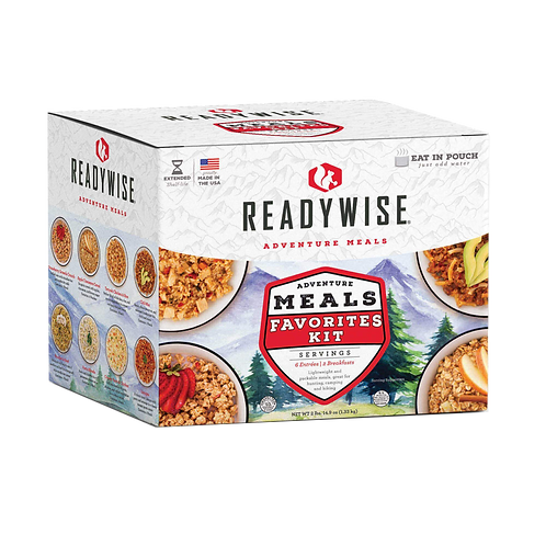 ReadyWise Adventure Favorites Meals