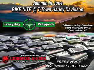 EveryDay Preppers Confirms Bike Nite for T-Town Harley