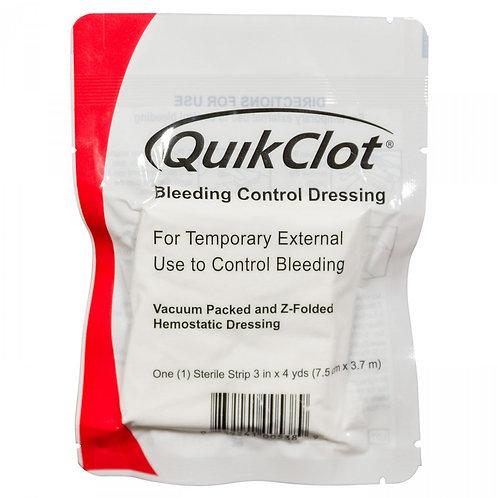 Quick Clot (Z-Fold) Gauze