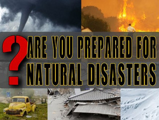 How to Be Prepared for Natural Disasters