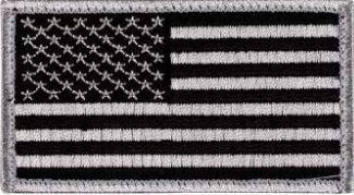 Flag-Black & Silver