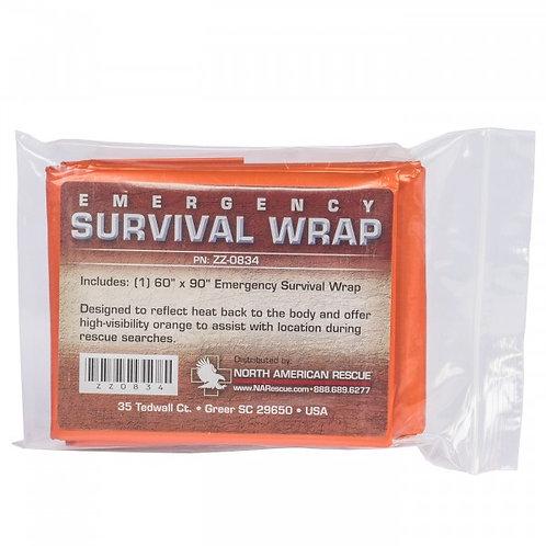 Emergency Survival Blanket Wrap