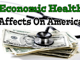 America Suffers From Economic Health Issues