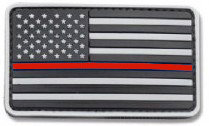 Flag-PVC Thin Red Line
