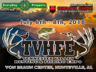 EveryDay Preppers Confirms they will be at 2018 Tenn Valley Hunting & Fishing Expo
