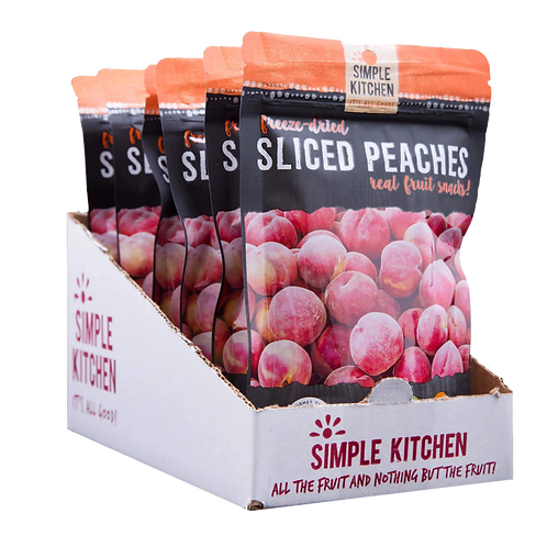 Freeze Dried Peaches (CASE)