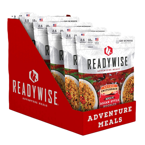 Switchback Spicy Asian Style Noodles (CASE)