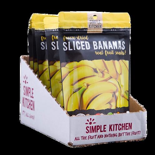 Freeze Dried Bananas (CASE)